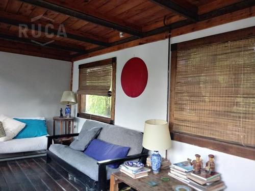 alq verano | hermosa casa de madera, parque y pileta - la bota