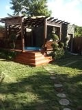 alq. villa amueblada en jarabacoa con jacuzzi(849) 804 3664