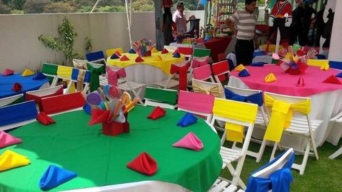 alquiladora; mesas, lonas, módulos, sillas y mas