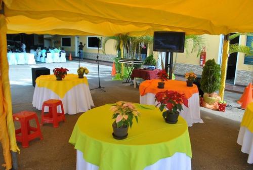 alquilamos festejos para su evento( sillas,sonido,inflables)