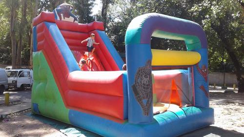 alquile castillo inflable toro mecánico, rampa, cabina fotos