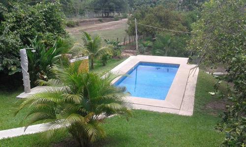 alquile de piscina con caney para fiestas, cualquier evento