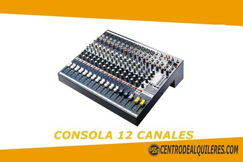 alquile dj audio parlantes rosario proyector consola mic