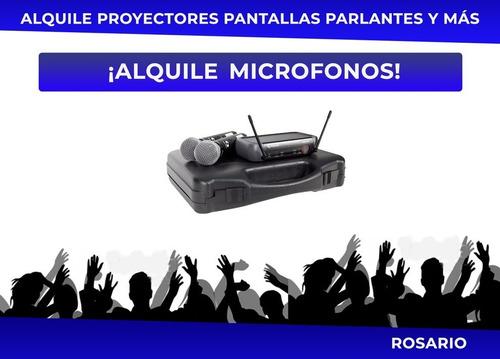 alquile proyector parlantes audio consola videojuego