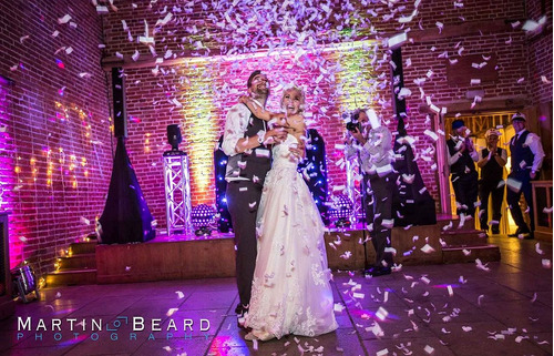 alquiler 15 años, bodas, pirotecnia, espuma, co2, confeti