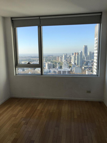 alquiler 3 amb piso alto c/dependencia   cochera - torre mirabilia