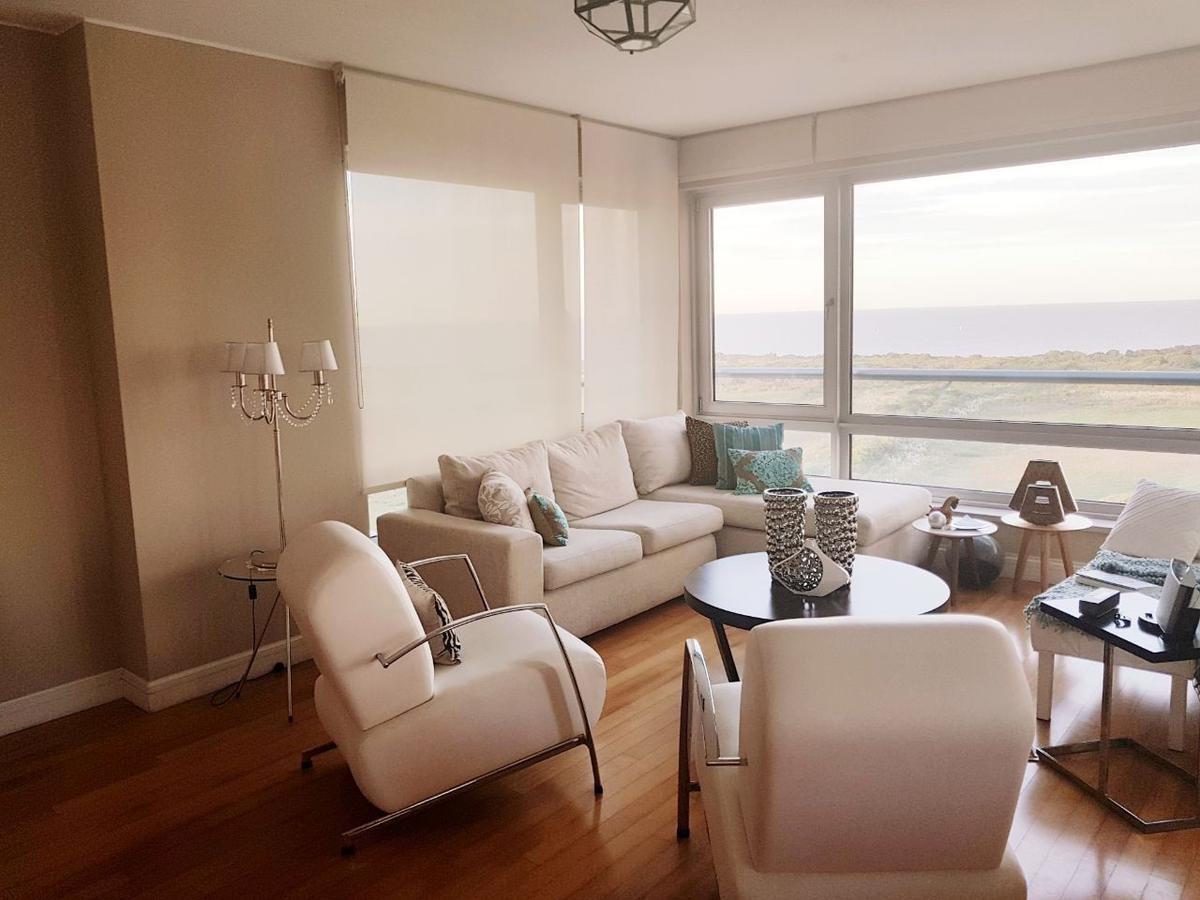alquiler 3 ambientes piso alto con vista panorámica con cochera en puerto madero