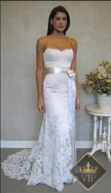 Vestido de novia para matrimonio civil bogota