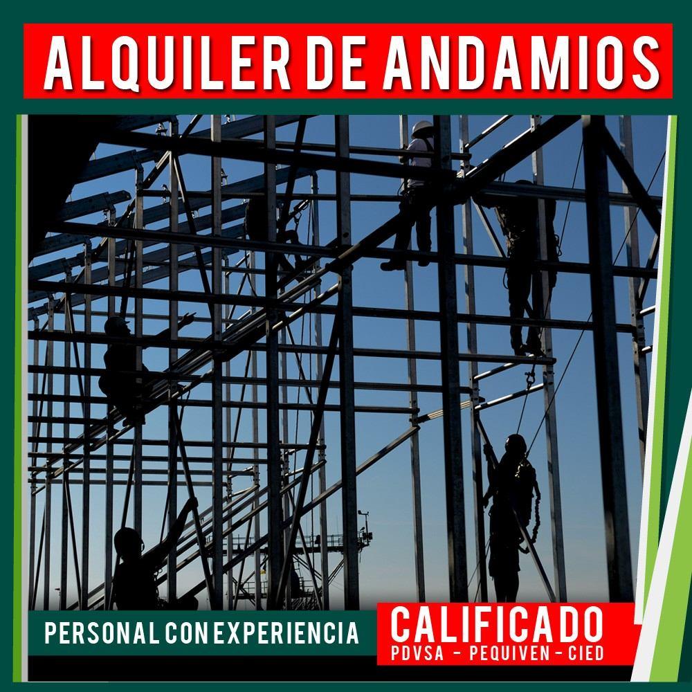 Alquiler andamio cuplock suministro montaje andamios en - Precio de andamios ...