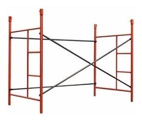 alquiler andamios tubulares pasillo escalera extensible caba