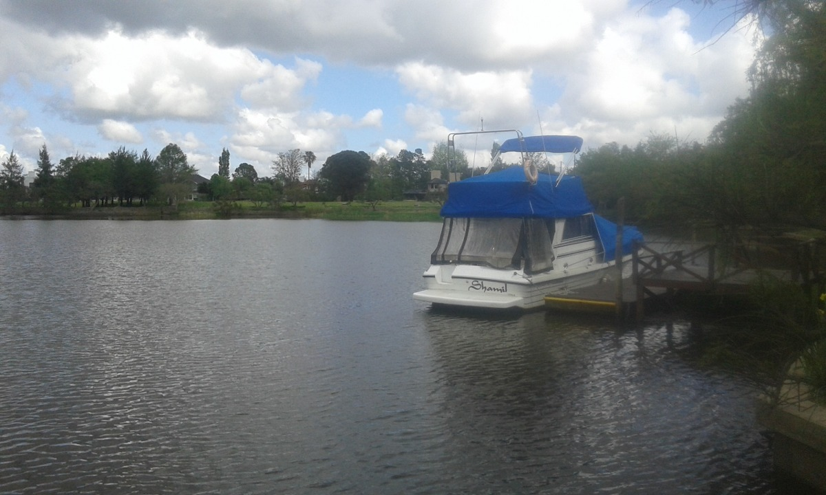 alquiler anual cube amarra lago $205.000. escobar, bs.as. n