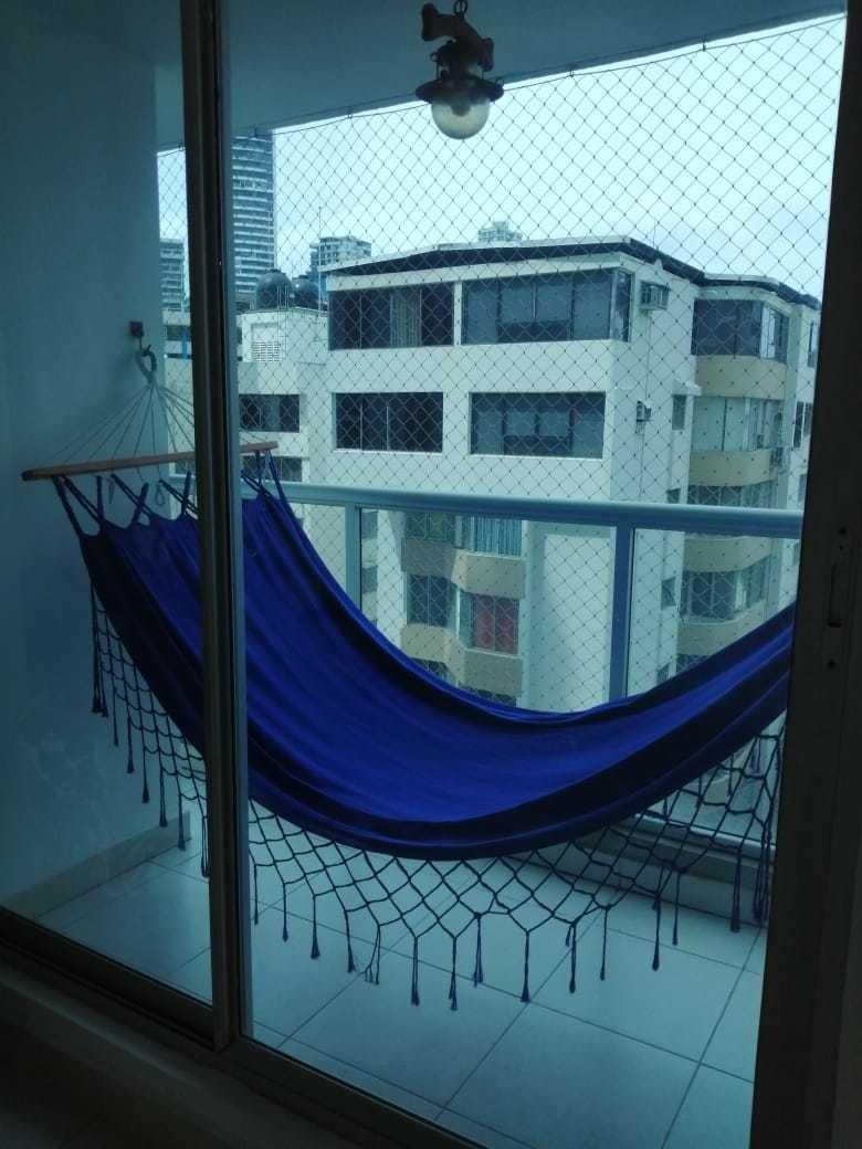 alquiler apartamento, 90mtrs2, amoblado, ph miro, 2r, 2b