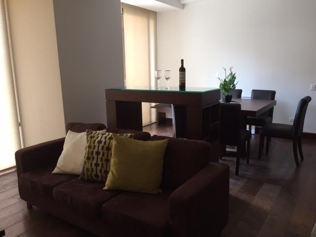 alquiler apartamento amueblado zona 14, 2 habitaciones