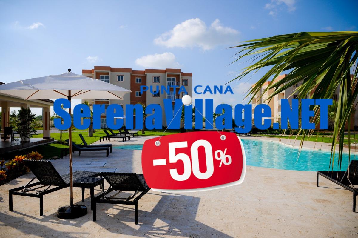 alquiler apartamento punta cana bavaro serena village plusne