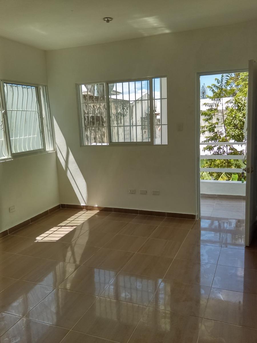 alquiler apartamento sin amueblar, 1 habitacion, gazcue