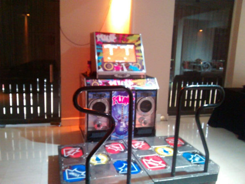 alquiler arcades flippers videojuegos simuladores tejo pool