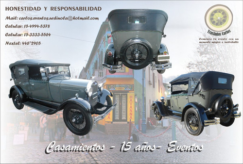 alquiler auto antiguo