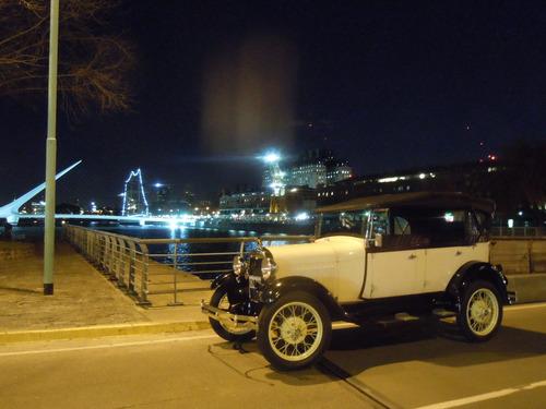 alquiler auto antiguo para