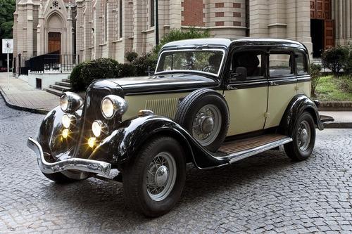 alquiler auto antiguo para fiestas