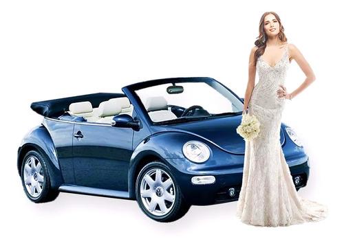 alquiler auto descapotable para casamiento, cumpleaños de 15