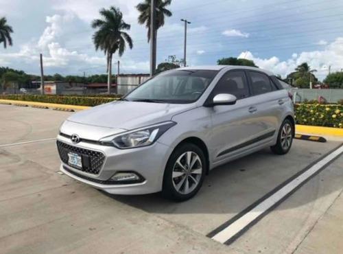 alquiler auto hyundai i20 2018 secuencial