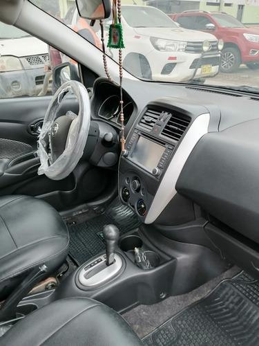 alquiler auto nissan versa 2018  para uso particular