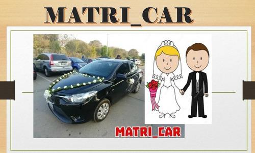 alquiler auto para matrimonio - quinceaños - graduaciones