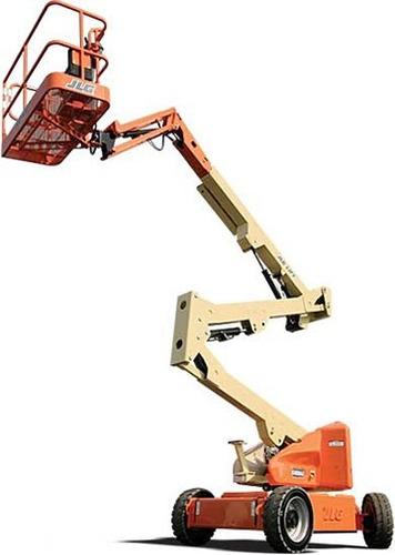 alquiler  autoelevador clark plataformas brazos transporte