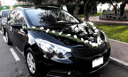 alquiler autos para boda, quinceaños o eventos corporativos