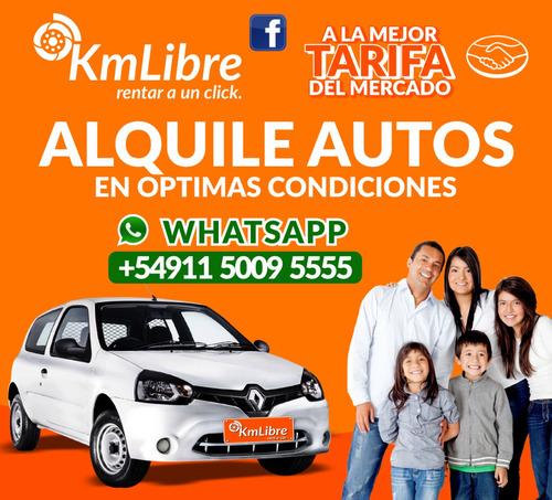 alquiler autos rent a car hasta 12 cuotas sin int - devoto