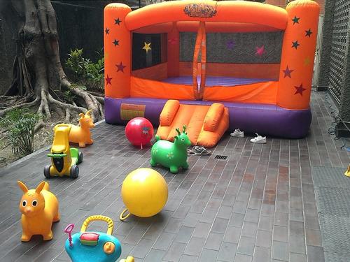 alquiler baby gim, parque little kids y fisher prices 25%