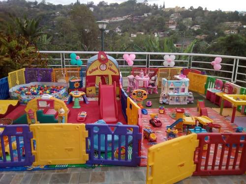alquiler baby gym, area de bebes para tu fiesta o festejo!!!