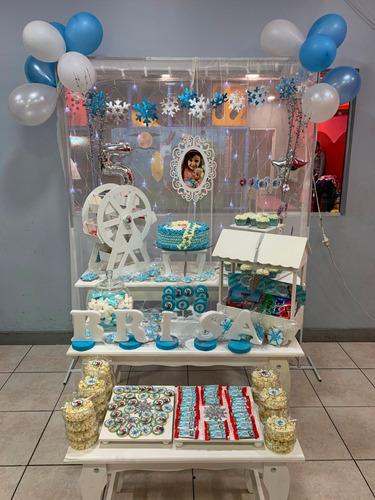 alquiler bandejas candy bar fibro facil. kiosko estructura !