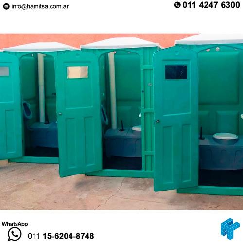 alquiler baños químicos portátiles eventos obras seguridad