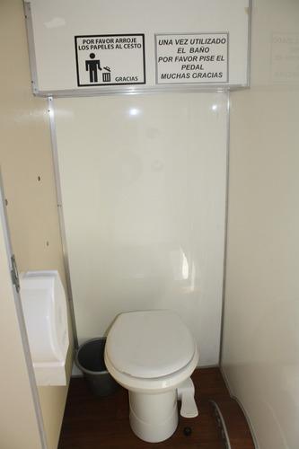 alquiler baños químicos vip-premium!