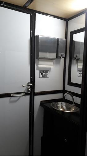alquiler  baños vip para eventos