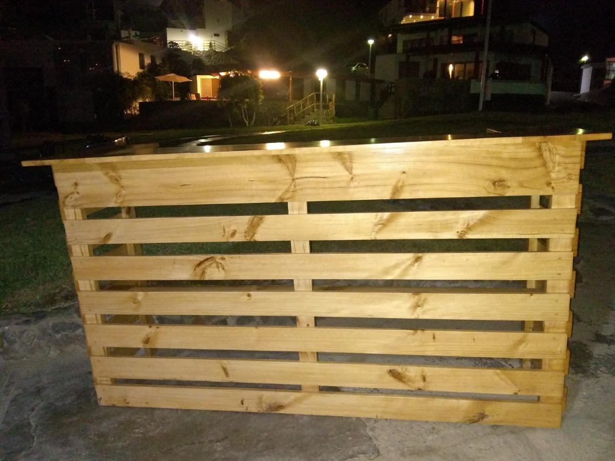 Alquiler barra bar madera r stico lima s 290 s 290 en - Barra de bar madera ...