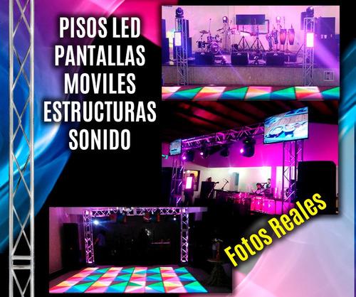 alquiler barra cocteles sonido luces pantallas grupo musical