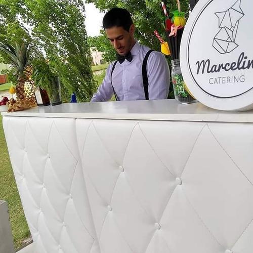 alquiler barra movil para eventos en rosario con bartenders