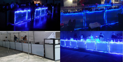 alquiler barras movil eventos hasta 14 metros barman