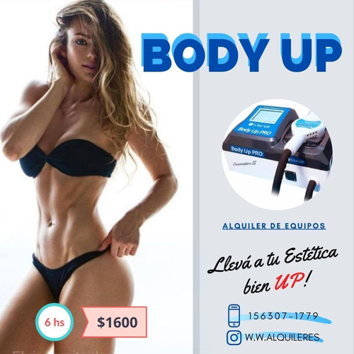 alquiler body up pro 2- jornada 6 hs