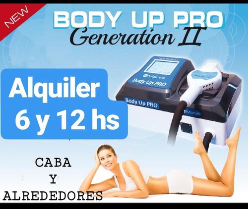 alquiler body up pro