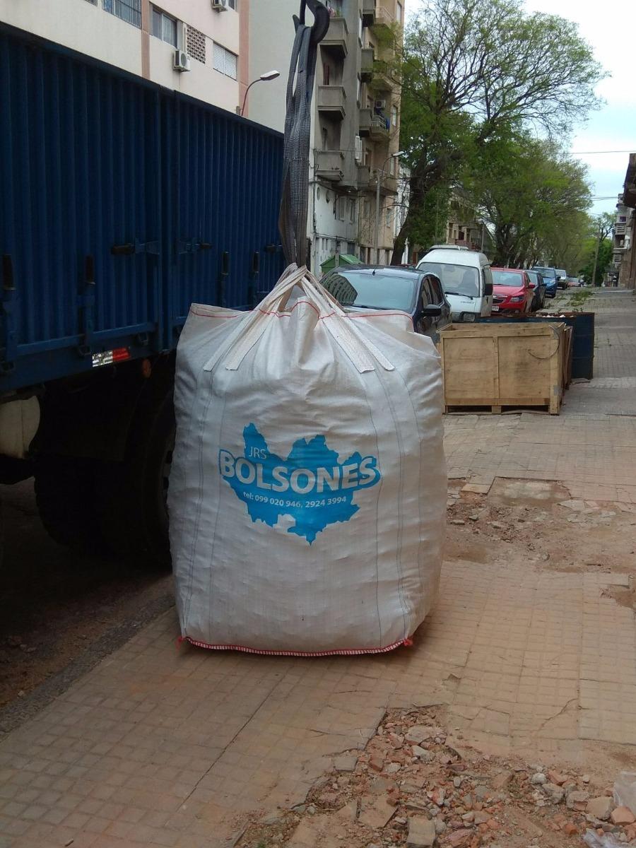 Alquiler bolsas bolsones para escombros en - Bolsas para escombros ...