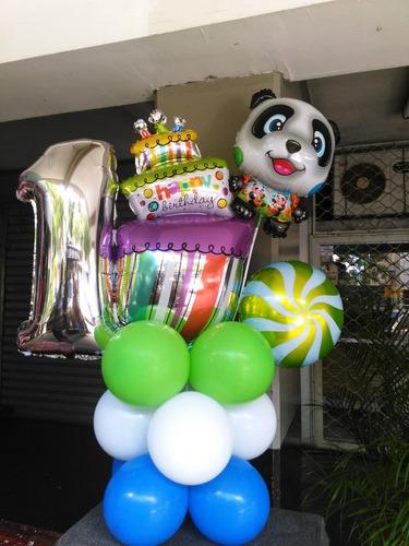 alquiler bombona de gas helio para globos gigantes y pequeño