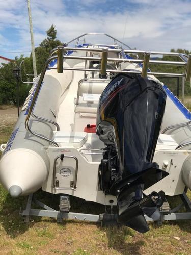 alquiler bote semirrígido bariloche rent a boat