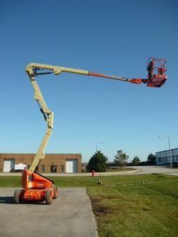alquiler brazos articulados manipuladores telescopicos