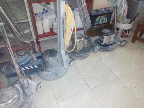 alquiler brilladoras industriales y destroncadoras de pisos