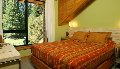 alquiler cabaña bahia manzano resort para 4 personas.