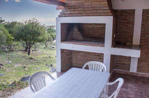 alquiler cabaña en traslasierra san javier cordoba pileta