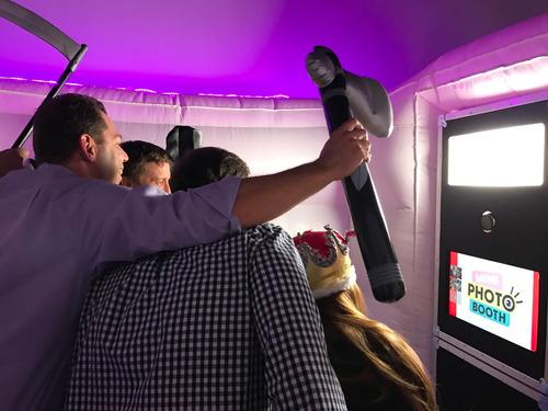 alquiler cabina de fotos - cabina inflable, totem o cortina